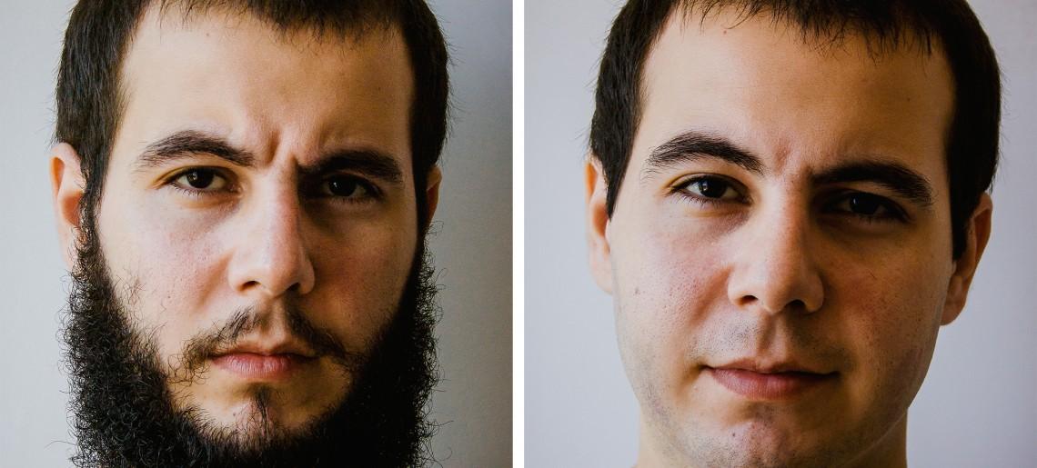 Tchau, barba: Prevenindo possível problema na imigração