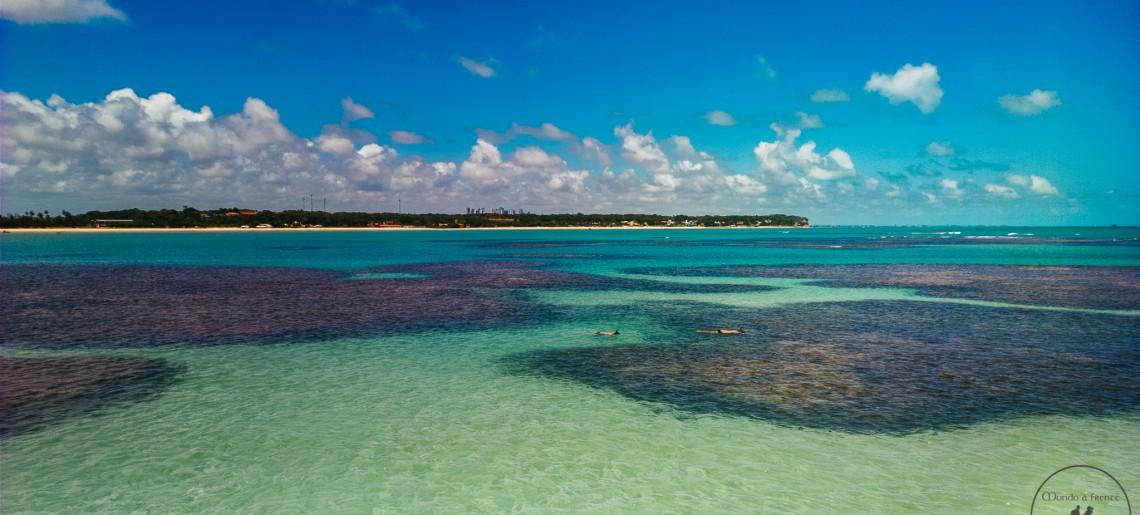 Um paraíso em João Pessoa: piscinas naturais do Seixas