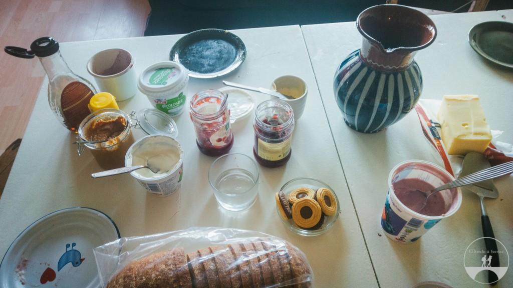 Café da manhã na Karina