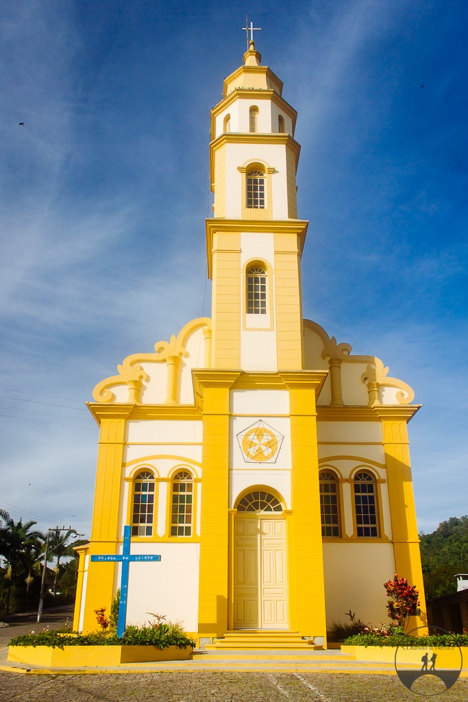 Igreja matriz de Pedras Grandes