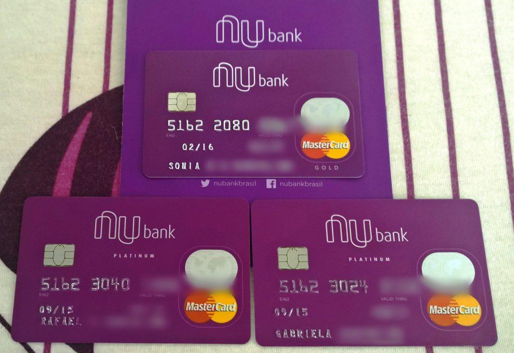 Cartões Nubank (Gold e Platinum)