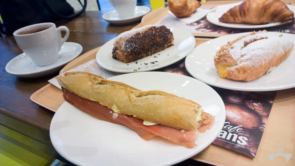 Café da manhã em Madrid