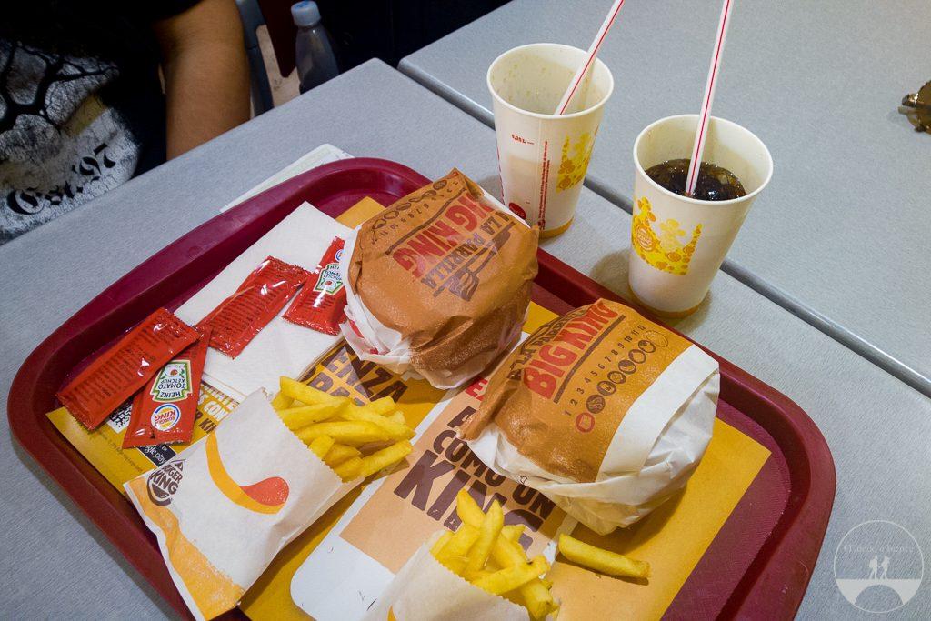 Burger King em Madrid
