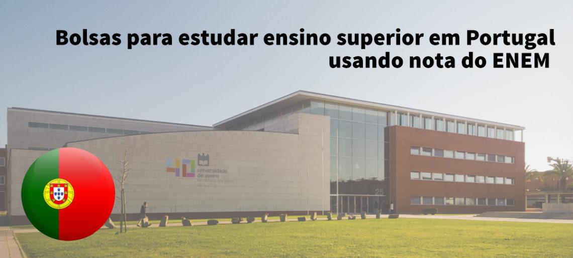 Universidade de Aveiro oferece bolsas para brasileiros que prestaram ENEM